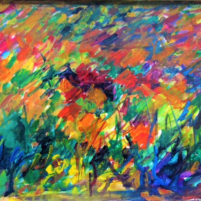 Couleurs du Vercors (aquarelle)