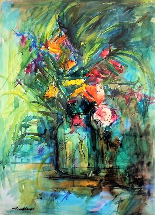 fleurs (aquarelle)