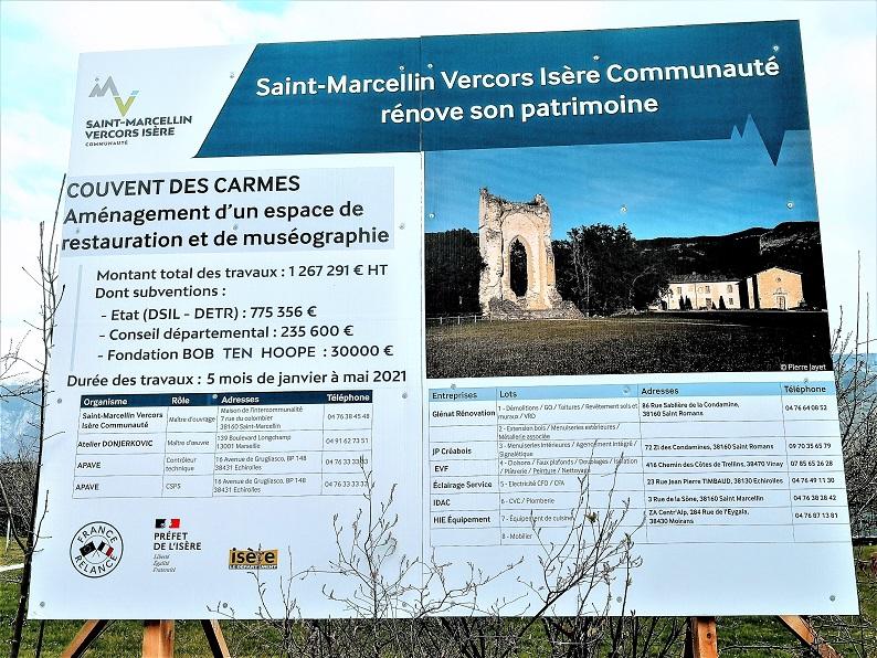 Annonce du Projet d'Aménagement du Couvent des Carmes